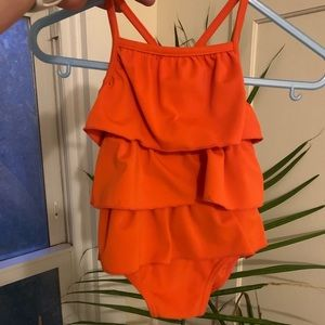 Babygirl 6 month Carters Ruffle One Piece swimsuit